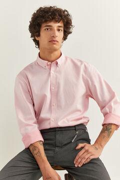 Springfield DOBBY SHIRT pink