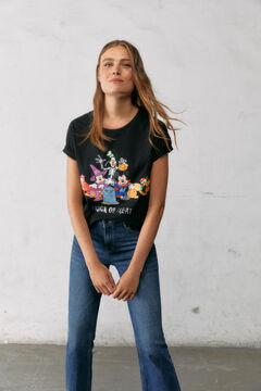 Springfield Mickey Mouse Trick or Treat T-shirt black