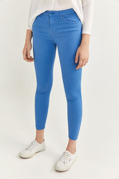 Springfield Slim Fit Cropped Jeans mallow
