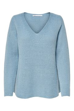 Springfield Loose fit knit jumper bluish