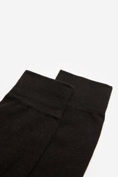 Springfield Calcetín básico negro