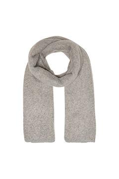 Springfield Plain scarf gray