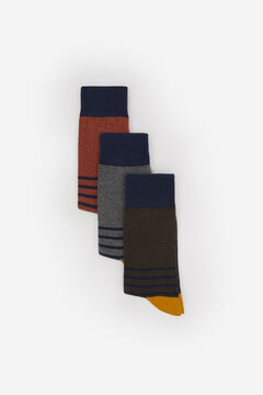 Springfield PACK 3 CALCETINES RAYAS azul