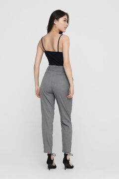Springfield Tie waist trousers gris