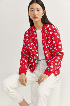 Springfield Bomber estampada red