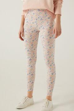 Springfield Legging estampado algodón orgánico rosa