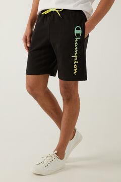 Springfield Pantalón corto logo vertical negro