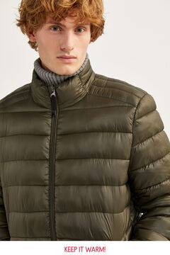 Springfield Water-repellent padded jacket green water
