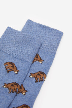 Springfield CHAUSSETTE OURS blau