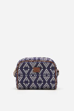 Springfield Jacquard bag steel blue