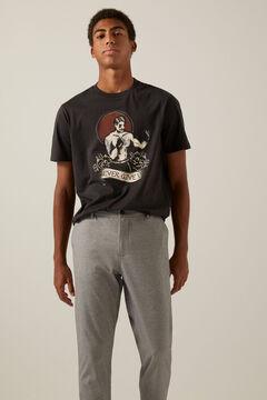 Springfield Boxy T-shirt light gray