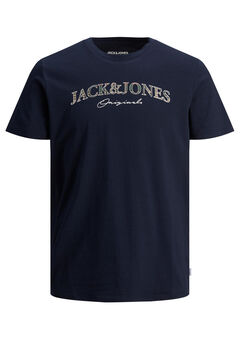 Springfield Logo text t-shirt  navy