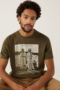 Springfield T-shirt imprimé photographique marengo