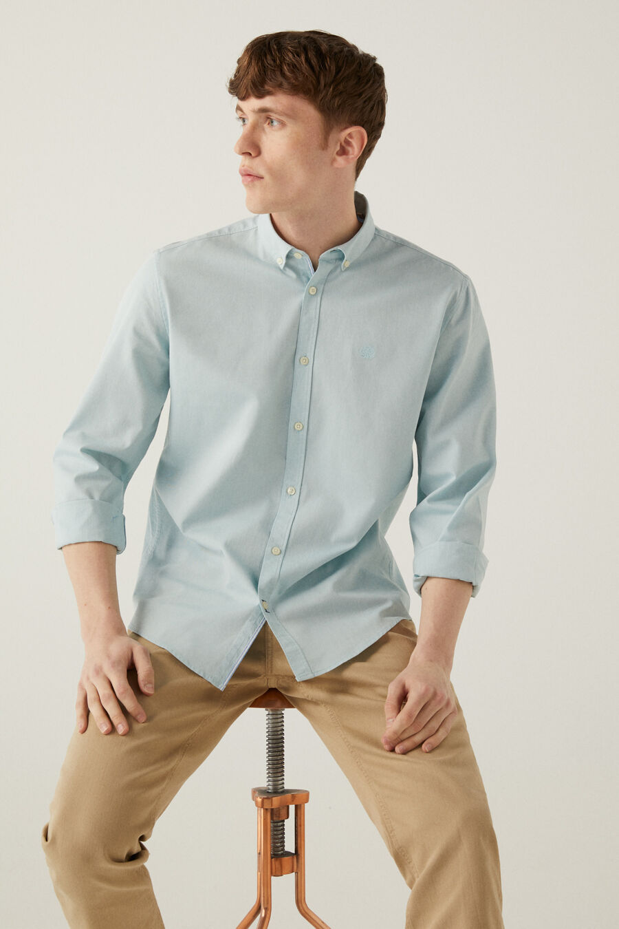 Chemise pinpoint springfield