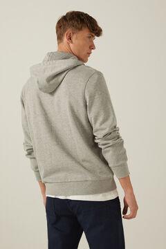 Springfield Sweatshirt básica aberta cinza