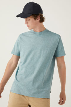 Springfield Essentials marl t-shirt blue