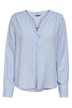 Springfield Striped blouse blue mix