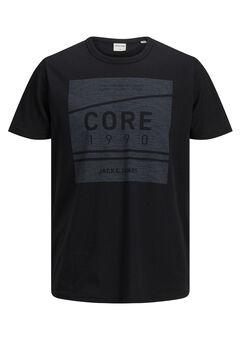 Springfield Logo print t-shirt  noir
