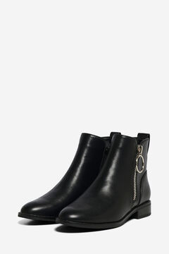 Springfield Zip ankle boot  black