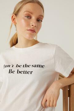 Springfield T-shirt gráfica branco