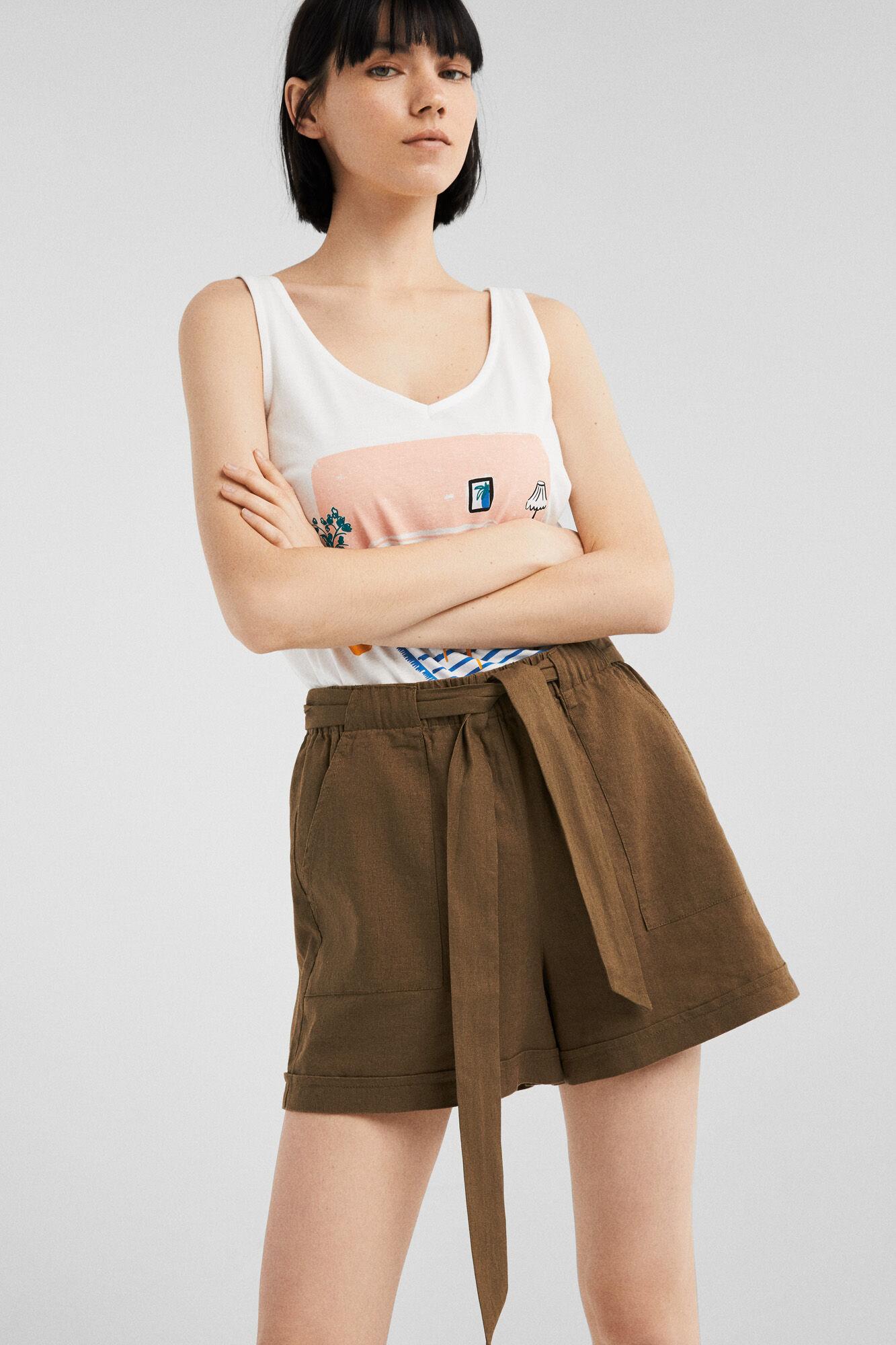 61c5b9e5b Flowy shorts with pockets | Shorts | Springfield Man & Woman