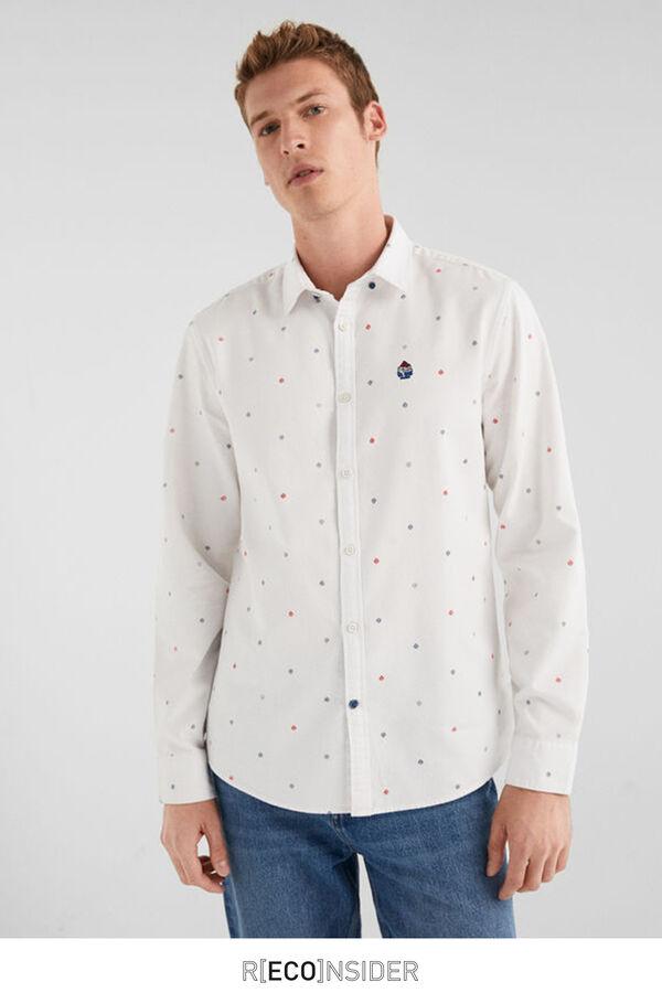 36b8d47a106e2 Springfield Camisa algodón orgánico blanco