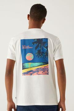 Springfield Last summer T-shirt ecru