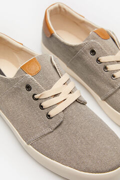 Springfield Casual cotton sneaker gray