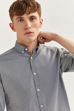 Springfield Liquid-repellent shirt natural