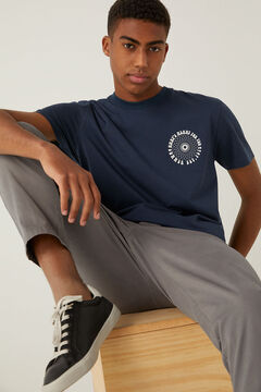 Springfield Camiseta 1975 azulado