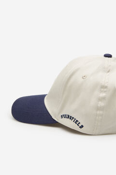 Springfield Two-tone baseball cap blue