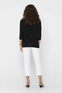 Springfield Dropped shoulder blouse black