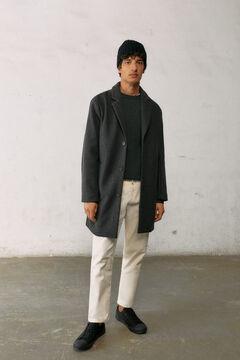 Springfield Comfort stretch coat light gray