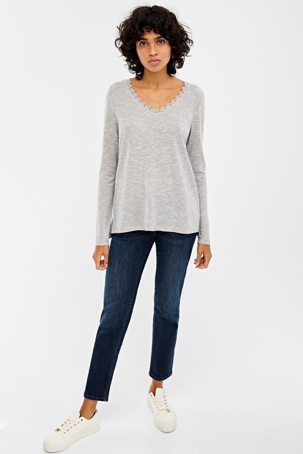 moderno y elegante en moda correr zapatos Super baratas Camisetas de mujer | Springfield