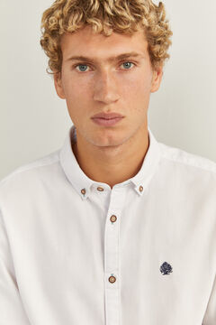 Springfield Textured shirt white