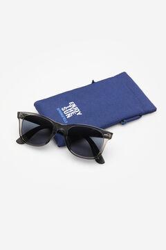 Springfield Óculos massa armação bicolor preto