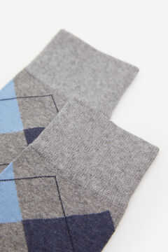 Springfield Diamond socks grey