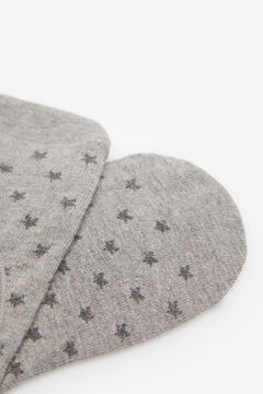 Springfield Mini Stars No-Show Socks grey