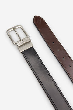 Springfield ESSENTIAL REVERSIBLE LEATHER BELT black