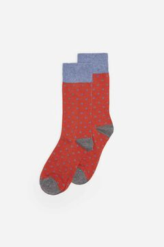 Springfield Polka-dot socks bordeaux