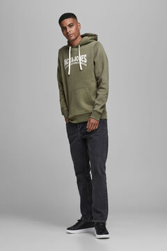 Springfield Sustainable hoodie green