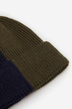 Springfield TWO-TONE KNIT HAT dark gray