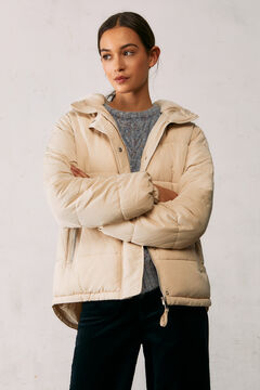 Springfield Reconsider quilted jacket natural