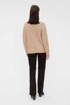 Springfield Jersey-knit jumper  brown