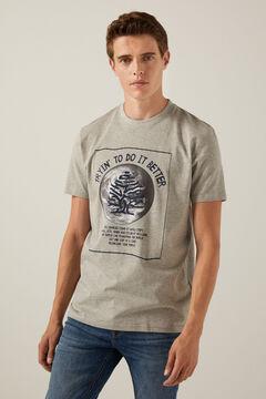 Springfield Logo T-shirt gray