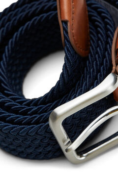 Springfield Classic braided belt navy