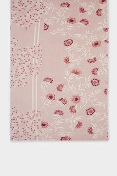 Springfield Pañuelo estampado floral rosa