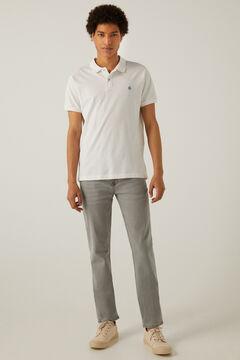 Springfield Jeans slim gris lavado claro gris