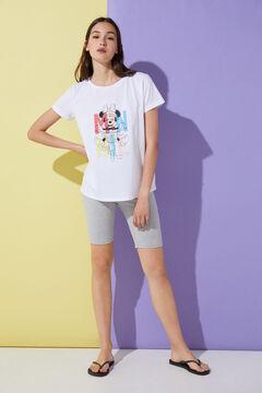 "Springfield Camiseta ""Minnie Letras"" blanco"