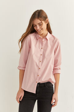 Springfield Pink Striped Shirt strawberry
